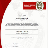 ISO 9001:2008 Certificate ENG